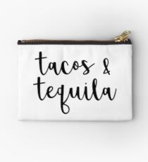 tacos & tequila  Studio Pouch