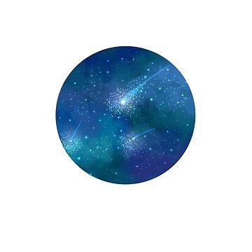 Shooting Stars by Black-kat