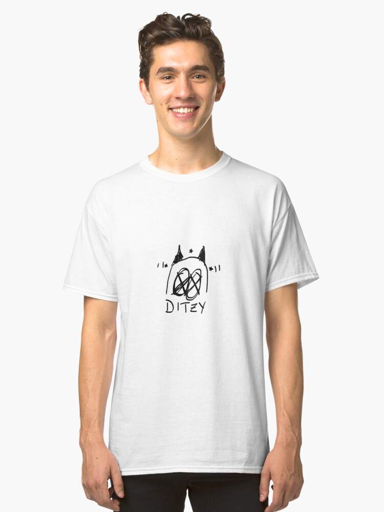 ditzy Classic T-Shirt Front