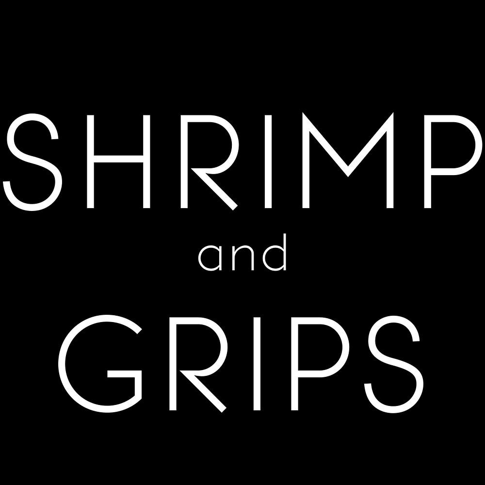 Shrimp and Grips Tee BJJ / BJJ Shirt / Tee / Grappling / MMA / Jiu Jitsu / Funny shirt / Charleston by Mennotti