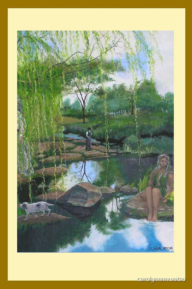 Severn River canvas print by carolynannwatso