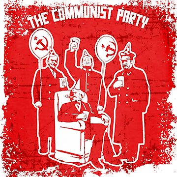 the communist party red by dekarataa