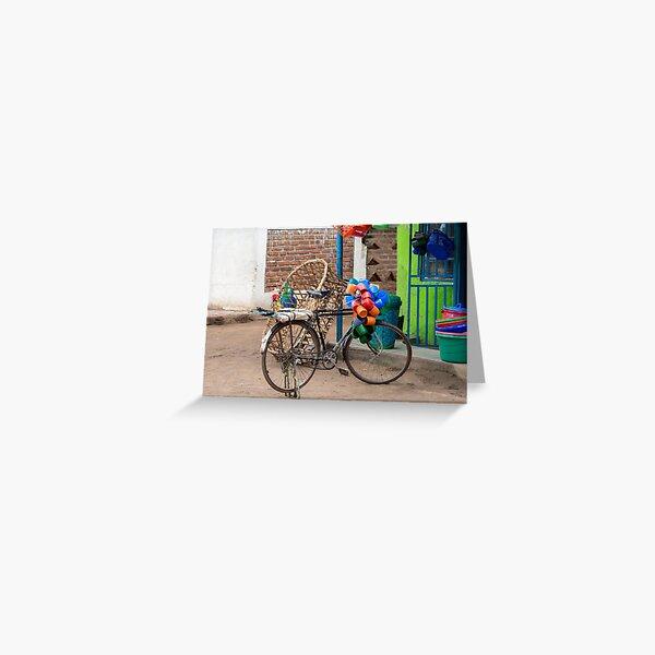Shopfront 2, Mfuwe, Zambia Greeting Card