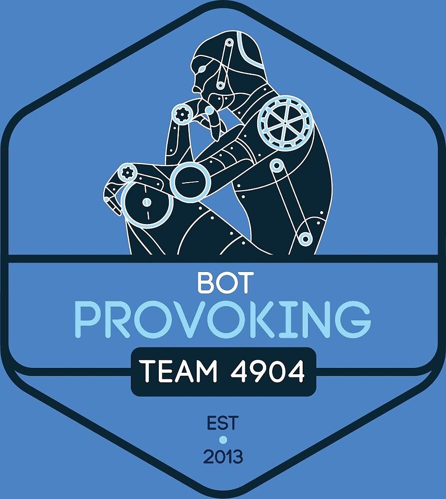 Bot-Provoking: Thinker Logo by botprovoking