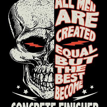 all men are created equal but the best become bike t-shirts by ElizabethMas