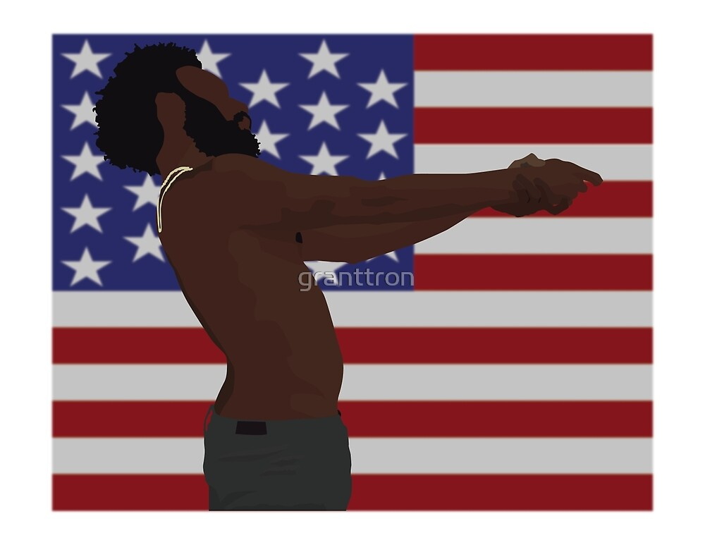 Childish Gambino - This Is America (Full Flag) by granttron