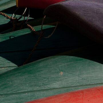 Canoe Hulls 3 by onmybike