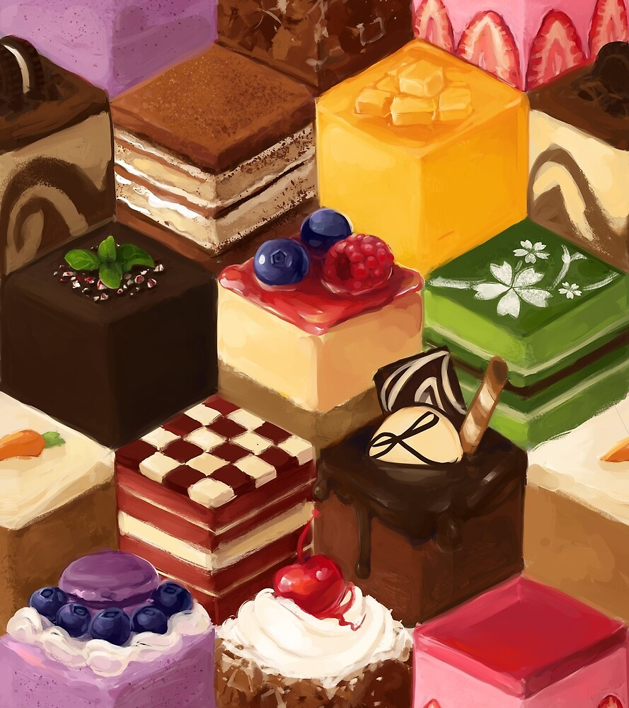 you get a cake and you get a cake and y- by Lina Nguyen