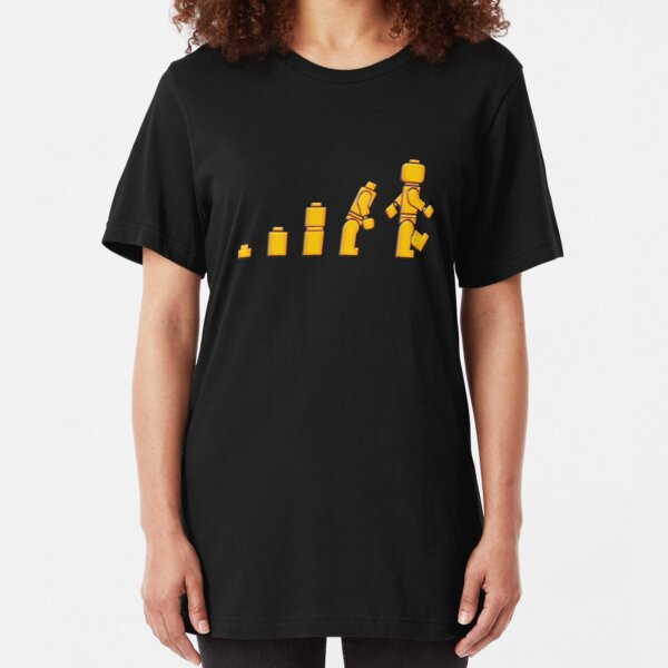 Evolution von Lego Man Slim Fit T-Shirt