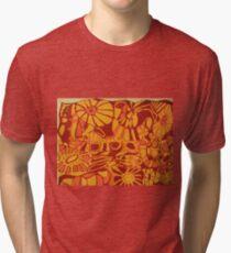 ANIMAL PRINT SERIGRAPH  Tri-blend T-Shirt