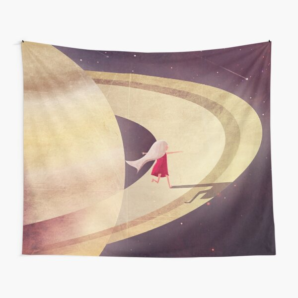 Saturn Child Tapestry