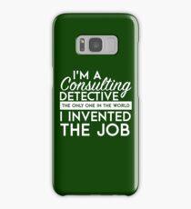 Sherlock - Consulting detective Samsung Galaxy Case/Skin