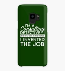 Sherlock - Consulting detective Case/Skin for Samsung Galaxy