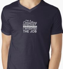 Sherlock - Consulting detective Men's V-Neck T-Shirt
