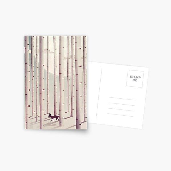 Serene Forest Postcard