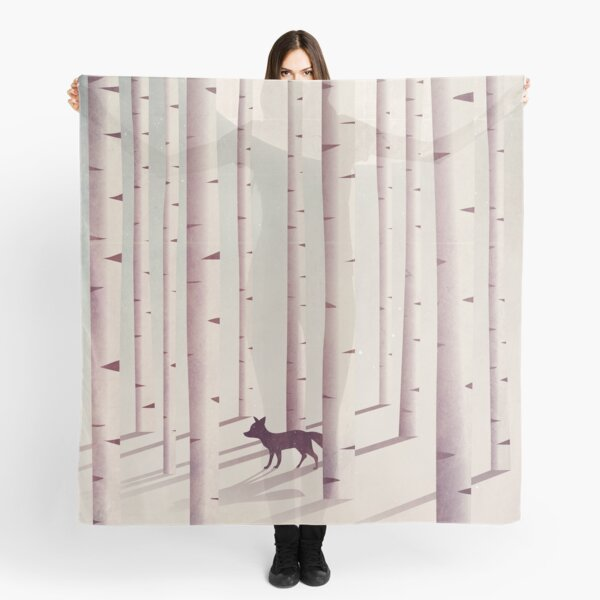 Serene Forest Scarf