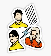 paramore pins Sticker