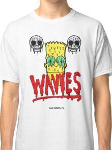 "WAVVES ""Drippy"" Design Classic T-Shirt"
