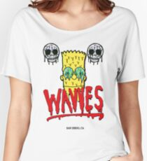 "WAVVES ""Drippy"" Design Women's Relaxed Fit T-Shirt"