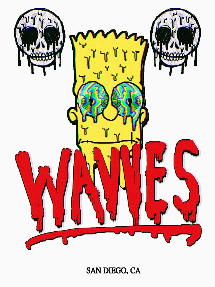 "WAVVES ""Drippy"" Design 