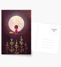 A Little Night Wanderer Postcards