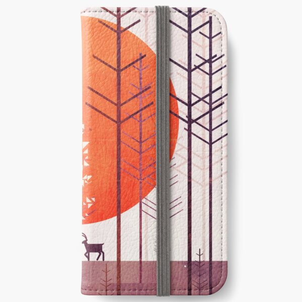 Silent Forest iPhone Wallet