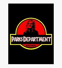 Parks Department Photographic Print