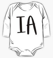 IA Baby Body Langarm