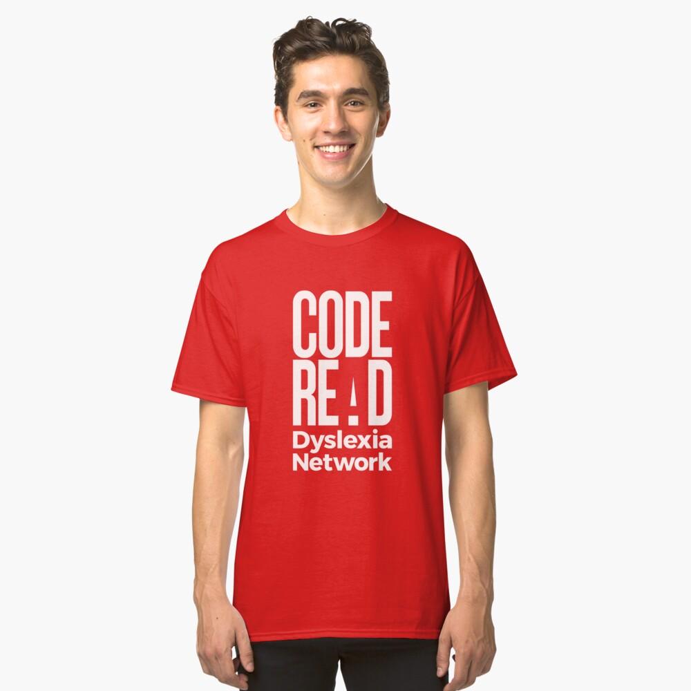 Code Read Dyslexia Network Classic T-Shirt