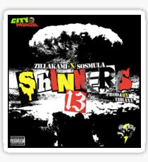 ZillaKami and Sosmula Shinners 13 Sticker