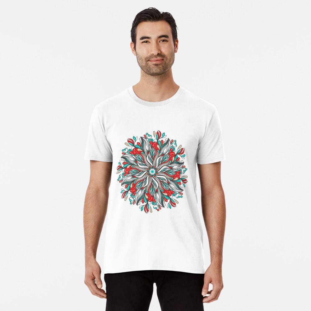 Mandala Flowers Camiseta premium