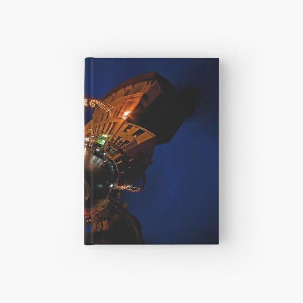 Christmas Lights on Ferryquay Street, Derry Hardcover Journal