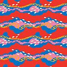 Dreamy Clouds - Pattern // Primary Colour Love by Elli Maanpää
