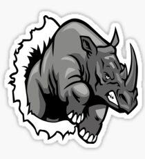 ANIMAL 3D - RHINO Sticker