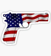 Amerikanische Pistole Sticker