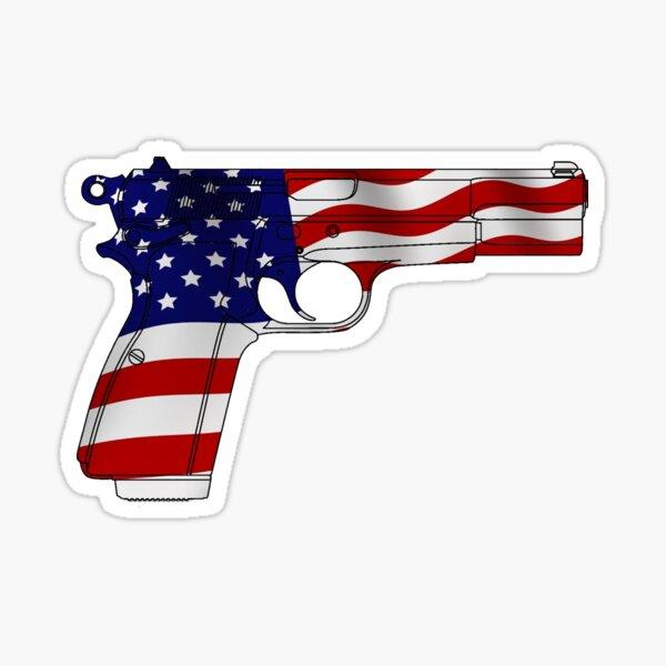 American Handgun Sticker