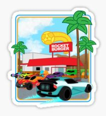 Rocket Burger Sticker