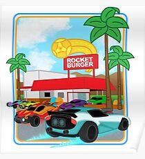 Rocket Burger Poster