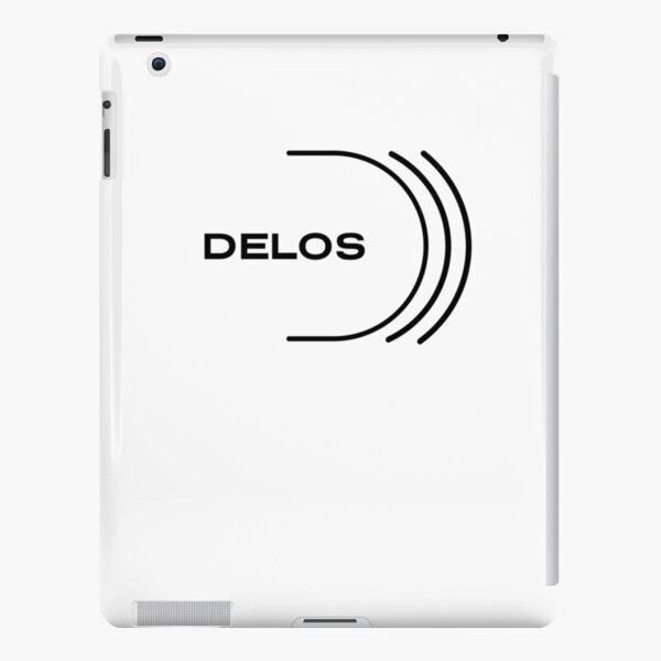 Westworld Delos minimal logo iPad Snap Case