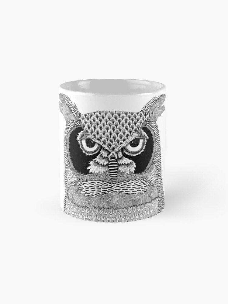 Alternate view of Give a Hoot Mug
