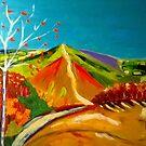 North Hill  Malvern in Autumn by Rusty  Gladdish