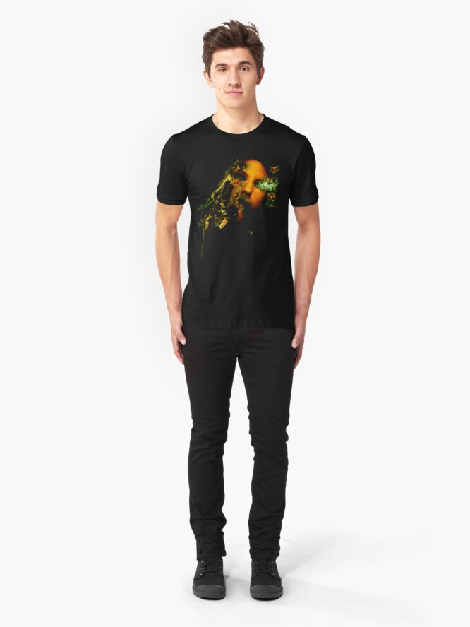 Alternate view of ACID BURN I T SHIRT Slim Fit T-Shirt
