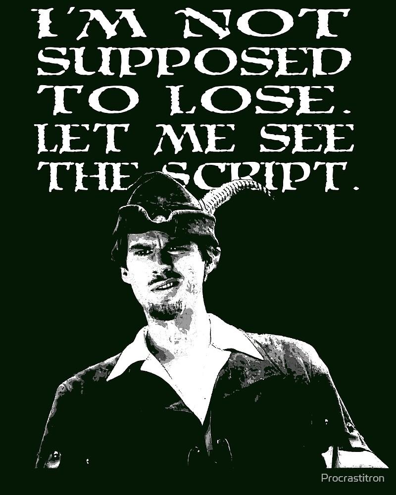 See the Script by Procrastitron