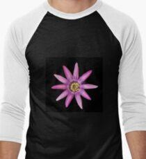 Passiflora Lavendar Lady Men's Baseball ¾ T-Shirt