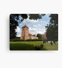 Church Landscape 1 Metal Print