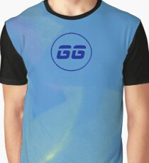 SiegeGG - Light Blue Washed Graphic T-Shirt