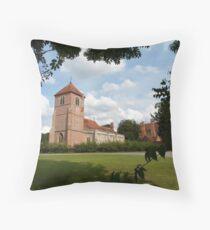 Church Landscape 1 Throw Pillow