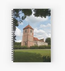 Church Landscape 1 Spiral Notebook