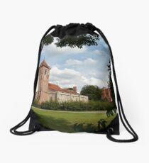 Church Landscape 1 Drawstring Bag