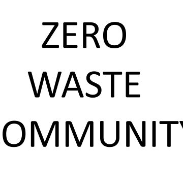 Zero Waste community by Noshin95